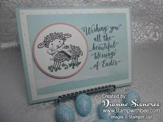 Easter Lamb, Suite Sayings - SU - by Dianne Sisneros