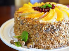Honey Cake-Russian Medovik cake with pumpkin and spice recipes
