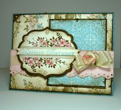 Perry Papercrafts: Floral Birthday Wishes