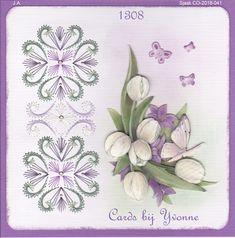 YBB 1308 Witte Tulpen