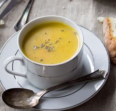 Winter Vegetable Soup Recipes - Parsnip and Potato Soup - Click Pic for 22 Healthy Soup Recipes for Winter