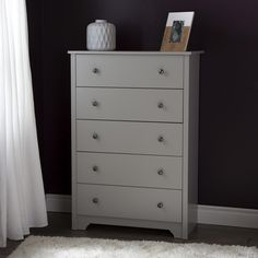 South Shore Vito 5 Drawer Chest & Reviews | Wayfair
