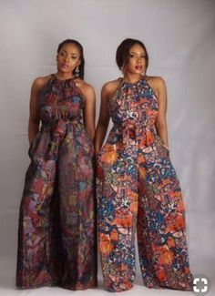 Collection of the most beautiful african ladies ankara jumpsuit styles. These are the best and most beautiful jumpsuit ankara styles you can ever have African Jumpsuit, Ankara Jumpsuit, Ankara Dress, Palazzo Jumpsuit, African Print Dresses, African Fashion Dresses, African Dress, African Prints, Dress Fashion
