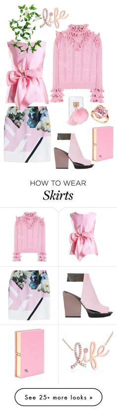 """""""Untitled #920"""" by sunnydays4everkh on Polyvore featuring Preen, Yanny London, Gucci, 3.1 Phillip Lim, R.H. Macy's & Co., Olympia Le-Tan, Ashlyn'd and Kobelli"""