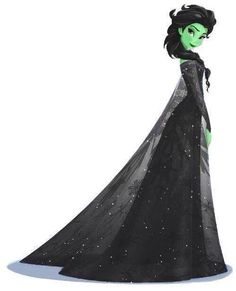 Elsa - Elphaba. One of the few non-annoying qualities of Frozen - I can pretend it's Wicked.
