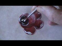Rosen - Bauernmalerei Basic Online Malkurs-Vorschau - YouTube