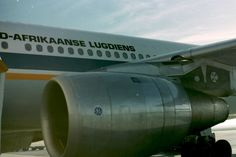 SAA Airbus A300 Gemsbok Aircraft Engine, Civil Aviation, Airplanes, Lust, Pilot, Commercial, Engineering, African, Military