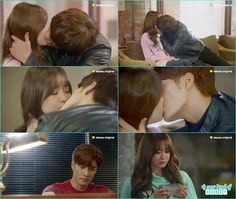 yoo mi remember the kiss on the sofa - My Secret Romance: Episode 11 korean drama