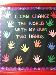 Bulletin board in my classroom :)....can revamp for earth day too