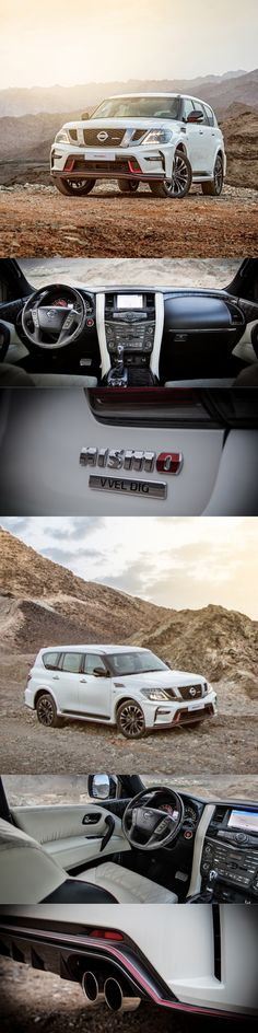 2015 Nismo Patrol / 17-461 / Japan / white red / Nissan / 5.6l 428hp V8