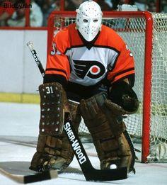 Pelle Lindbergh my idol Flyers Hockey, Ice Hockey Teams, Hockey Goalie, Hockey Games, Field Hockey, Hockey Stuff, Bernie Parent, Canada Hockey, Philadelphia Sports