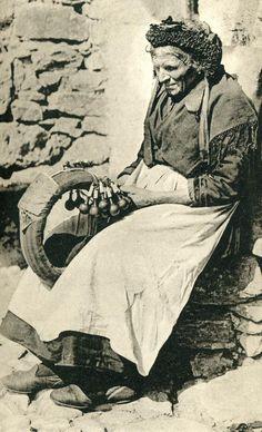 FolkCostume: Costume of Tarentaise, Savoy or Savoie, France - lacemaker