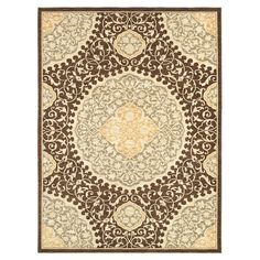 Found it at Wayfair - Melrose San Marino Chestnut Rug