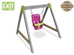 Balancoire Enfant Baby Swing Rose au meilleur prix! - LeKingStore