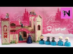 Princess Mooshka Castle Disney Frozen Fashems Surprise Elsa Anna Tinkerbell - YouTube