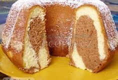 Czech Recipes, Ethnic Recipes, Bunt Cakes, Snack Recipes, Snacks, Cook At Home, No Bake Desserts, Baked Goods, Yummy Treats