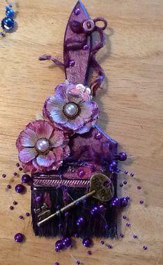 Embellished paint brush