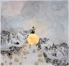 Artist Crystal Liu intimately ties her emotional states to beautiful abstract paintings.