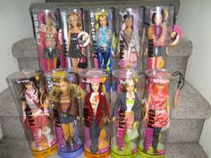 BARBIE FASHION FEVER LOTS OF 10  DOLL NRFB LIMITED EDITION SEE PICTURES #MattelBarbie #Dolls