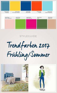 wohnen und einrichten mit den trendfarben fr hjahr sommer 2016 trendfarben f r fr hling und. Black Bedroom Furniture Sets. Home Design Ideas