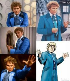 Sixth Doctor - blue coat variant