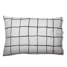 Kip & Co | SS14 Check 1-2 Pillowcase Set