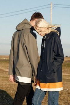 Stutterheim x Whistles Unisex Raincoat