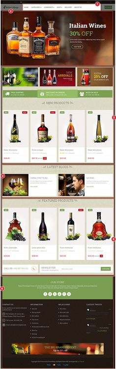 Leo Wine Prestashop Theme   Prestashop 1.6 Template   Prestashop Theme   Premium Prestashop Theme   LeoTheme