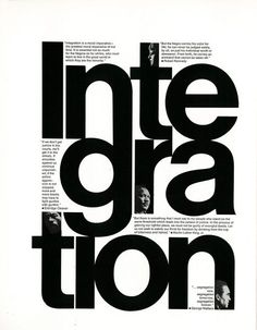 typography poster design Work by Philip Gips in Black and White: A Portfolio of 40 Statements on a Single Theme Design Web, Design Logo, Book Design, Layout Design, Identity Design, Brand Identity, Type Posters, Graphic Design Posters, Graphic Design Typography