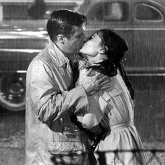 "iconic kiss between Holly Golightly and ""Fred"" from Breakfast at Tiffany's"