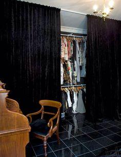 Think I Need Black Velvet Curtains