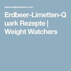 Erdbeer-Limetten-Quark Rezepte | Weight Watchers