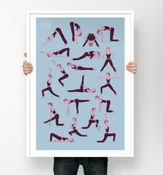 Yoga postures, les i
