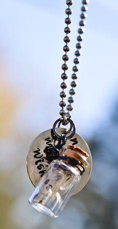 Never Stop Making Wishes  Necklace by artisticicing on Etsy, $26.00