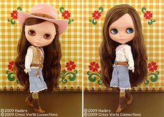 Takara-Tomy-CWC-Shop-Limited-Neo-Blythe-Urban-Cowgirl-1-6-12-034-Fashion-Doll