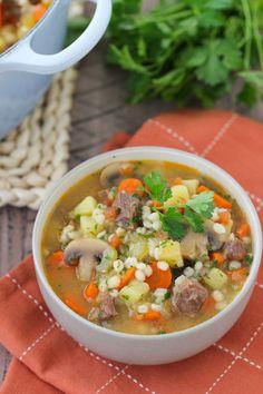 Beef, Vegetable and Barley Stew | Olga's Flavor Factory