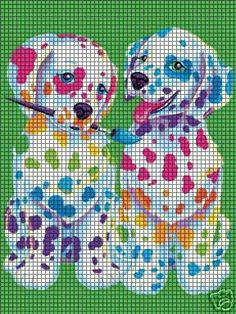 Painting Puppies Crochet Pattern