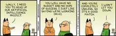 Wally Heads Up Ai Project - Dilbert Comic Strip on 2016-06-20 | Dilbert by Scott Adams