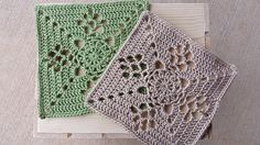 Crochet - Victorian Lattice Square - Free pattern - Downloaded and printed