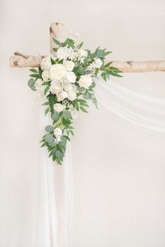 2pcs Flower Arch Décor with Sheer Drape (Pack of 3) - Timeless White White Wedding Arch, White Wedding Bouquets, Floral Wedding, Wedding Arch Greenery, Outdoor Wedding Arches, Wedding Alter Flowers, Bridesmaid Bouquet White, Gold Wedding, Wedding Bells