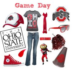 READY FOR THE OHIO STATE BUCKEYES 1st GAME 2012!