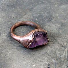 Pretty copper ring