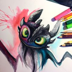 Toothless by Lucky978.deviantart.com on @deviantART