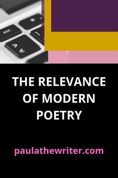 The Relevance of Modern Poetry Contemporary Poetry, Modern Poetry, Character Development Writing, 8th Grade Ela, Creative Writing Tips, Writer Tips, Story Writer, Writers, Authors