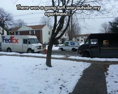 When things get serious in the postal world…