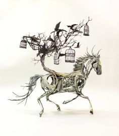 Surreal Fantsasy #Sculptures by Artist Ellen Jewett