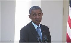 """10/18/16 Video is SCRUBBED by 9:50 PM PST, this video plays for just a few seconds, then announces,'The media could not be played.' Obama starts stuttering during Rose Garden attack on Trump ~ PinNote: I saw this video earlier. In it, the president comes across as trying to hide information. He sites a ridiculous story of 'any serious researcher knows we don't have voter fraud' (paraphrased). He plays Hillary's turnabout-the-victim game, implying Trump is a wussy. """"Nothing to see here…"""