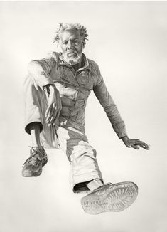 Hyperrealistic Drawings Ask Viewers To Take A Closer Look At Homeless Communities