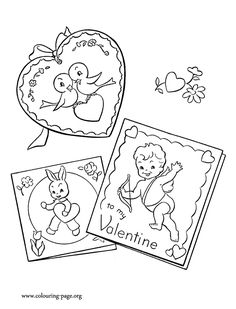 What About Have Fun Coloring These Amazing Valentines Day Cards For Kids Enjoy This