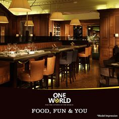 Experience world class amenities at ONE WORLD,#Chennai The #restaurant at ONE World is a perfect place to socialize. Let's unlock celebrations!  ☛www.chennaioneworld.com  #Homes #Luxury